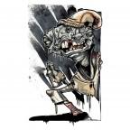 PLUTON Bag - Monster Paint