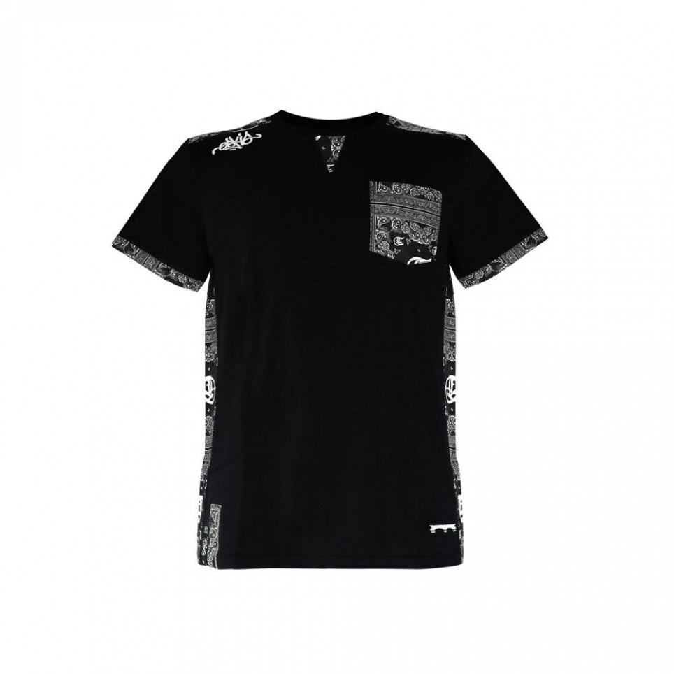 Bandana Blk - T-shirt - Homme