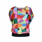 Heart Patterns - T-Shirt Femme