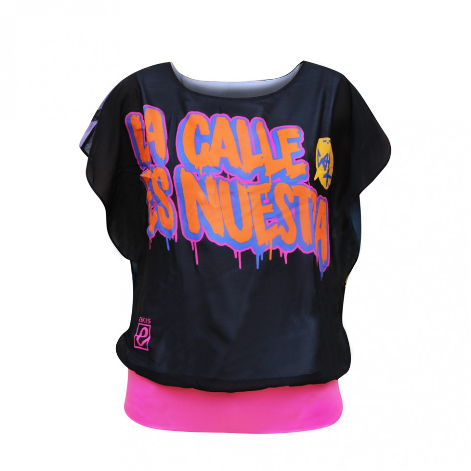 La Calle es Nuestra - Big - Woman T-Shirt