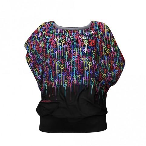 Heart In Love - T-Shirt Femme