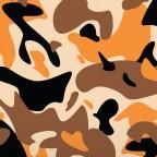 Kmouflage - Orange / Blk