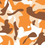 Kmouflage - Wh / Orange