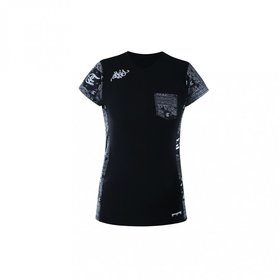 Bandana Blk - T-shirt woman