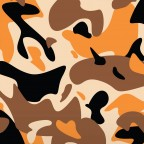 Kmouflage - Blk / Orange