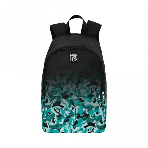 Kmouflage - Blk / Turquoise