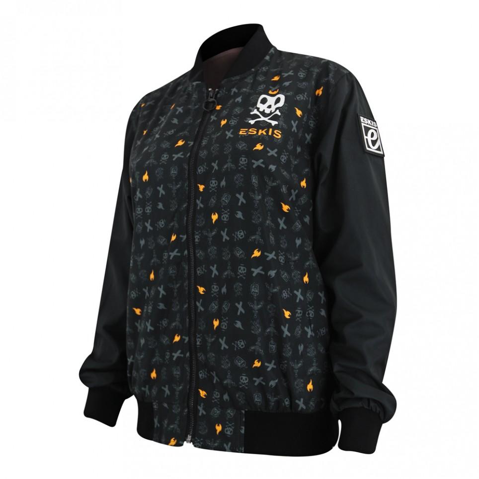 Alive - Blk Sleeves - Woman Jacket