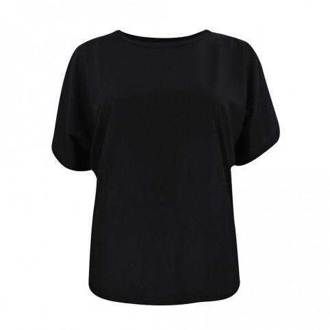 Happy Days - Blk - Camiseta Mujer