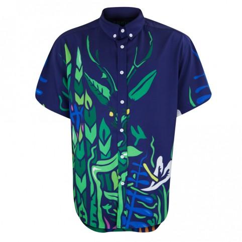 Tropicolleureux - Blu - Chemise