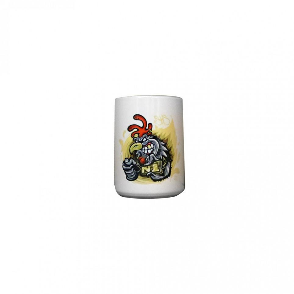 Cken - Mug en céramique - dessin de poulet