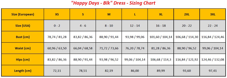 N6 - Happy Days - Blk